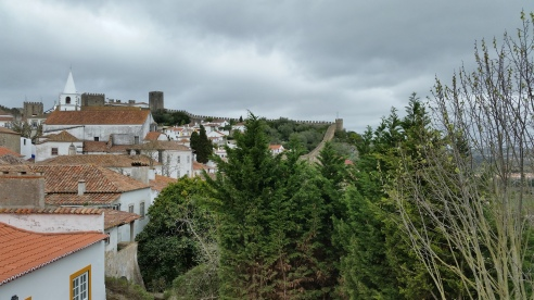 view Obidos Portugal